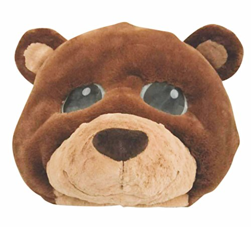 Rubie's Unisex Adult Plush Character Mask, As As Shown, One Size]()