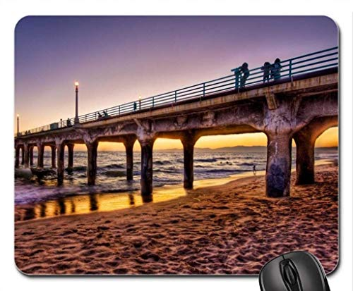 - Made Beautiful pier at Sunset HDR Mouse Pad, Mouse pad (Bridges Mouse Pad)