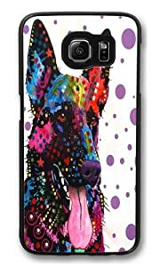 german shepherd PC Case Cover for Samsung S6 and Samsung Galaxy S6 Black