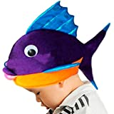 Amosfun Goldfish Headdband Cute Cartoon estereoscópica Animal ...