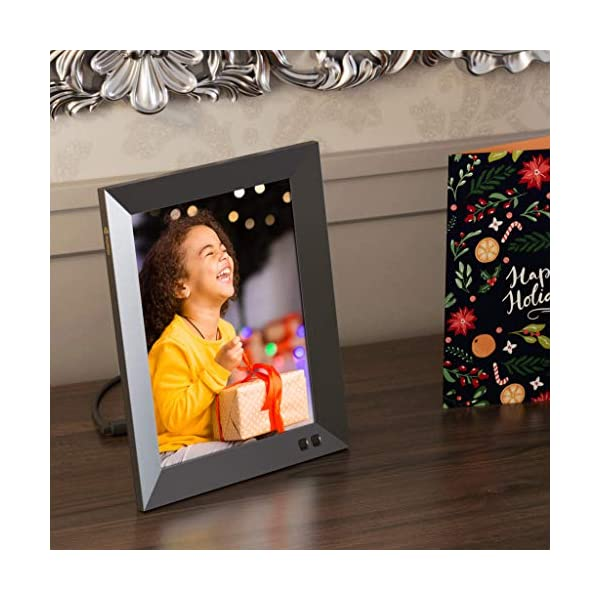 Nixplay 2K Smart Digital Picture Frame 9.7 Inch, Share Video Clips and Photos Instantly via App or E-Mail 5