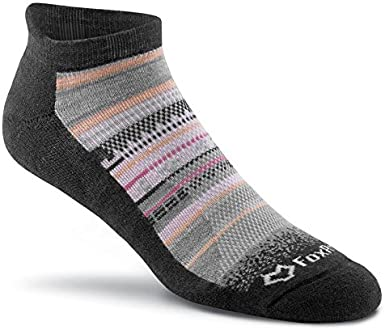 FoxRiver womens Basecamp Lightweight Outdoor Ankle Socks