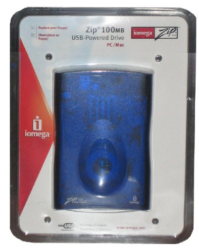 Iomega 100MB USB Powered Zip Drive for PC/Mac by Iomega