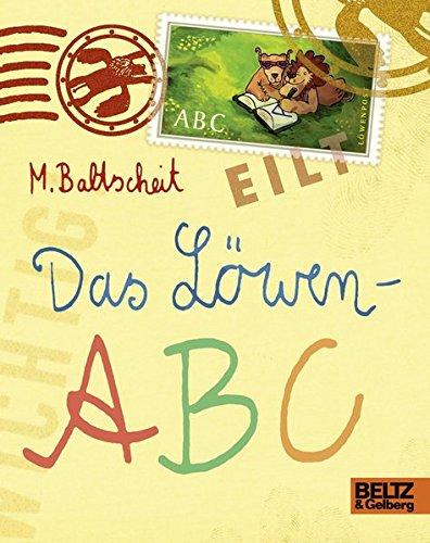 Das Löwen-ABC: Vierfarbiges Pappbilderbuch