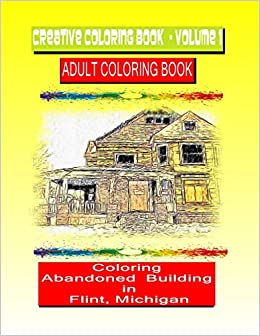 Amazon.com: Creative Coloring Book-Volume 1.: Abandoned buildings in ...