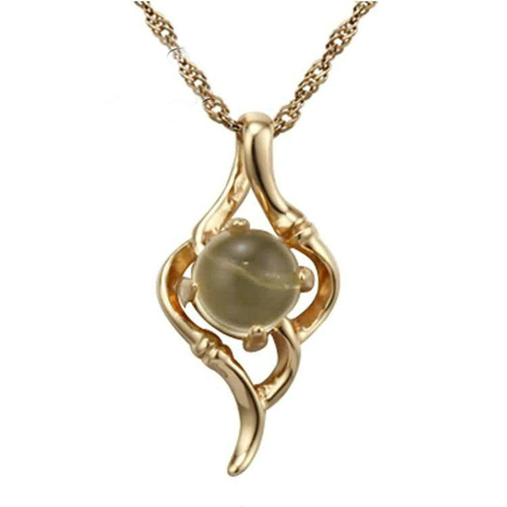 Daesar Sterling Silver Womens Necklace Wing Inlaid Crystal Rose Gold Pendant Necklace for Womens