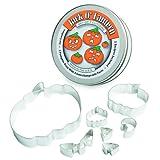 CK Products Pumpkin Cookie Cutter, Set of 7