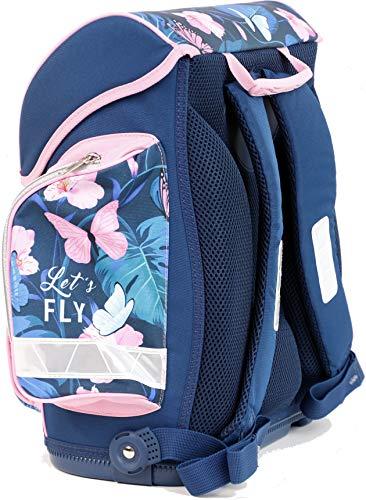 Geldbeutel//M/äppchen Rucksack Freizeitrucksack Daypacks Backpack Sportbeutel f/ür M/ädchen Jungen /& Kinder Jugendliche Damen Herren Butterfly Schulranzen Set Schulrucksack Set+Schultertasche