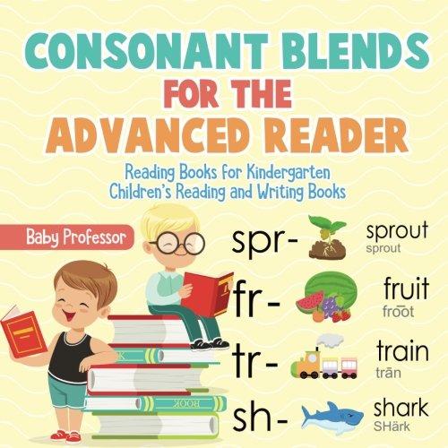 - Consonant Blends for the Advanced Reader - Reading Books for Kindergarten | Children's Reading and Writing Books