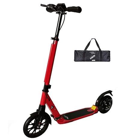 ACZZ Patinete de patada para adultos con ruedas grandes y ...