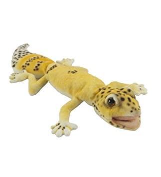 Amazon Com Hansa Toys Usa Gecko Finger Puppet Yellow Toys Games