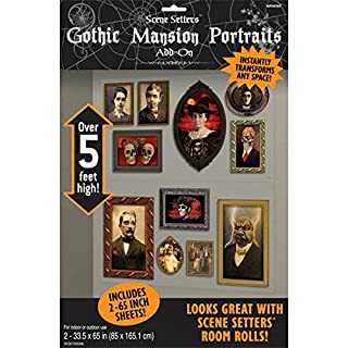 Gothic Mansion Portraits Scene Setters | Halloween Decorating Kit (B005FG2X54) | Amazon Products