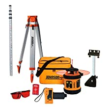 Johnson Level & Tool 99-006K-Self-Leveling Rotary Laser System