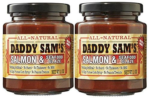 Daddy Sam's Salmon & Seafood Glaze Gluten Free 11 oz