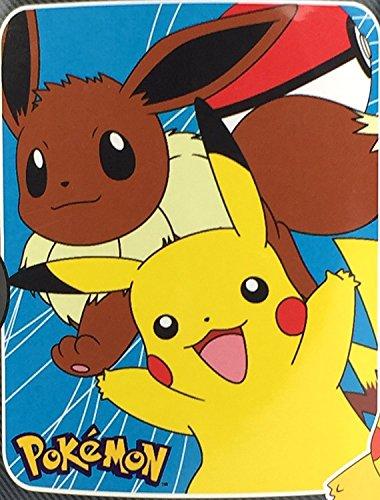Pokemon-Pikachu-Eevee-Fleece-Throw-Blanket-40-x-50