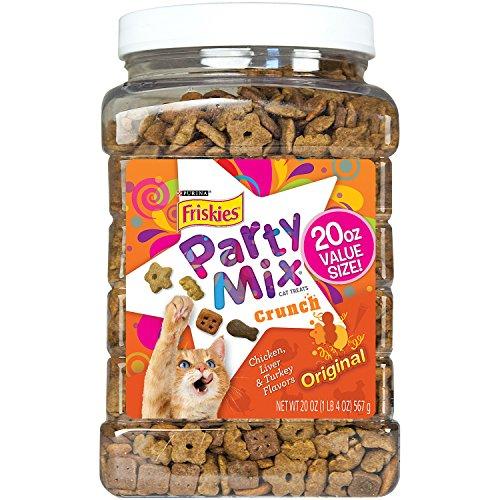 Purina Friskies Party Mix Favorites, Original Crunch, 20 Ounce