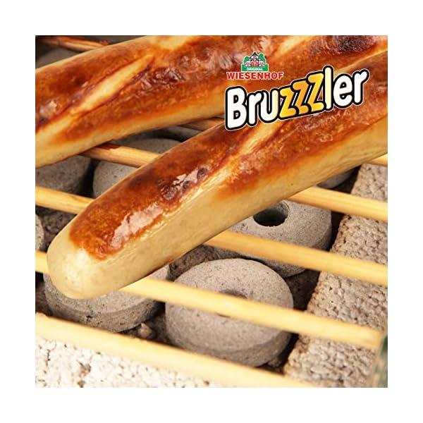 Bruzzzler Öko Einweggrill, komplett aus natürlichen Materialien, nach Gebrauch Fast vollständig verbrennbar, weniger CO2…
