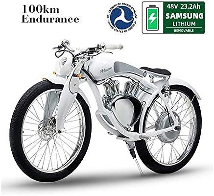 FUNBYKE Munro Bicicleta de Montaña Eléctrica Motocicleta E-Bike ...