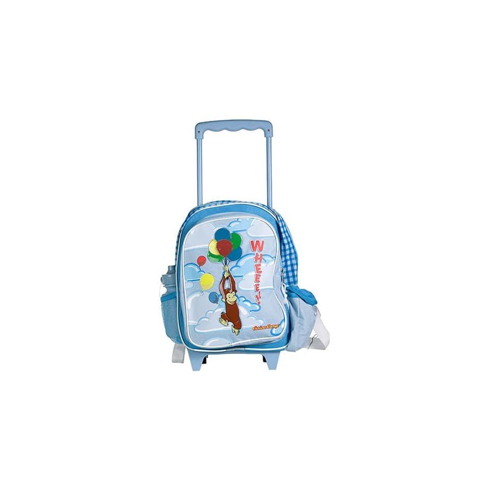 Monkey Curious George Kid Rolling Backpack  School bag