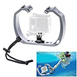 Sevenoak Aluminum Alloy Micro Film Making kit Video Cage Diving Rig Stabilizer SK-GHA6 & GoPro Mount Adapter for Action Cameras GoPro Hero3 3+ 4 5 6 Action Cameras for Underwater Video & Photography