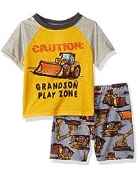 Baby Boys' Top and Shorts Pajama Set
