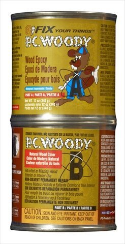 - Protective Coating 163337 Woody Epoxy Paste, 12 oz Container