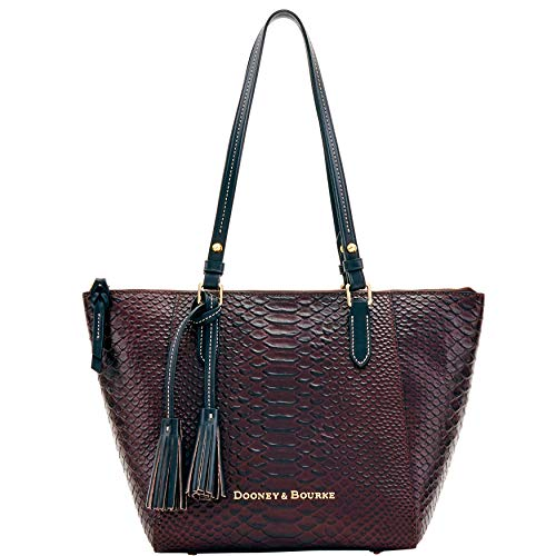 Dooney & Bourke Python Embossed Leather Maxine Tote ()