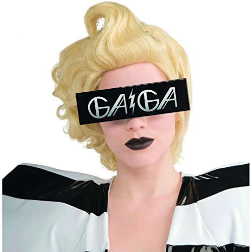 Lady Gaga Printed Glasses - Halloween Gaga Lady