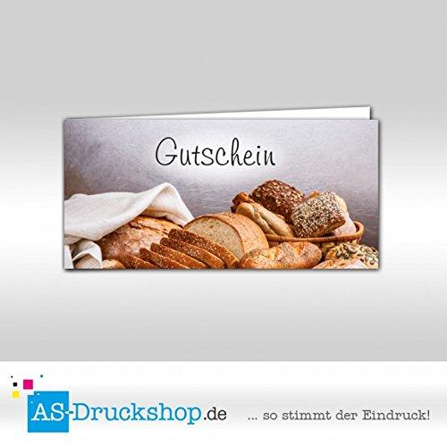 Gutschein Bäckerei Sesamkorn   100 Stück     DIN Lang B0794ZTDSR | Zuverlässige Leistung  6f1764