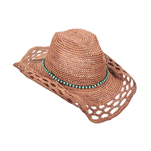 new-callanan-crocheted-raffia-fashion-western-faux-turquoise-bead-band-cowboy-hat-cr231