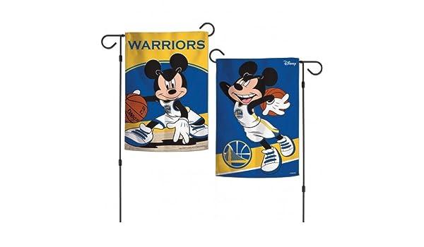 Wincraft Golden State Warriors Mickey Mouse Bandera de jardín NBA ...