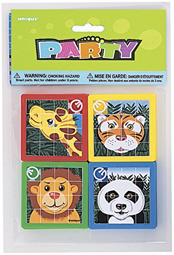 Animal Slide Puzzle Party Favors