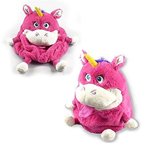 Plush Tummy Pets Stuffers Snuggle Kids Cute Soft Toys Storage Box Bag Children Shopmonk (Unicorn