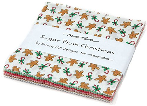 Sugar Plum Christmas Charm Pack By Bunny Hill Designs; 42 - 5