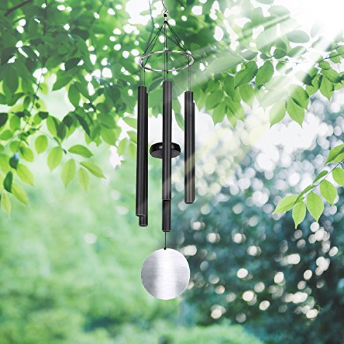 PATHONOR 30 Inches Large Indoor/Outdoor Wind Chime, Grace Waterproof Aluminum Musical Wind Tuned Wind Chime for Garden/Window/Fir Tree/Fireplace/Patio Decor