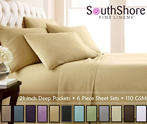 Compare Price King Size Sheet Sets Deep Pockets On