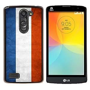 """Be-Star Único Patrón Plástico Duro Fundas Cover Cubre Hard Case Cover Para LG L Prime / L Prime Dual Chip D337 ( Bandera nacional de la Serie-Países Bajos"""" )"""