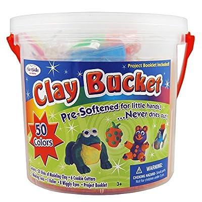 ArtSkills Clay Bucket, 100-Count (AMYS-131) by ArtSkills