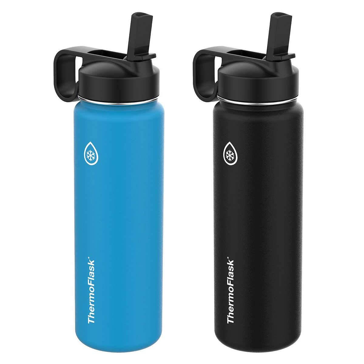 Thermoflaskステンレススチール24oz水ボトル、2 - Pack B07FSXXGNC