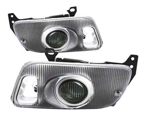 DNA MOTORING FL-HC922-SM Front Bumper Fog Light, Driver & Passenger Side