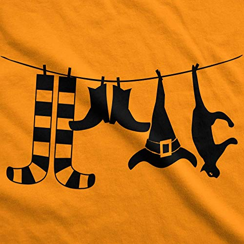 Mommy Be Magliette Clothesline Halloween Maternity Cute maternit Divertente Tshirts di Tee To Tee Dog for Crazy Pregnancy Witches xZgPPW