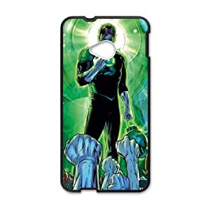 HTC One M7 Cell Phone Case Black Salute to Green Lantern LSO7970925