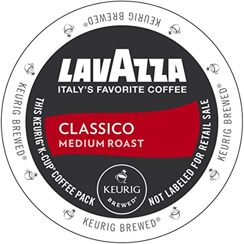 Lavazza Medium Roast Classico Coffee K-Cups 22 Count (Pack of 4)