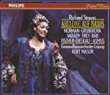 Strauss: Ariadne auf Naxos ~ J. Norman · Gruberova · Varady · Frey · Bär · Fischer-Dieskau · Asmus · Finke · Lind · J. Kaufmann · GO Leipzig · Masur