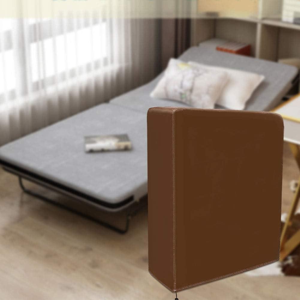 QEES - Funda plegable antipolvo para cama, duradera, gruesa, tela no tejida, funda de almacenamiento exclusiva para hostelería cama plegable fácil de ...