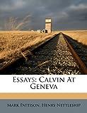 Essays, Mark Pattison and Henry Nettleship, 1246400464