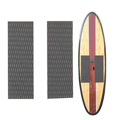 DEWIN Surfboard Traction Pad 1 Set EVA Anti-Skid Surf Traction Pad for Surfing or Skim Board