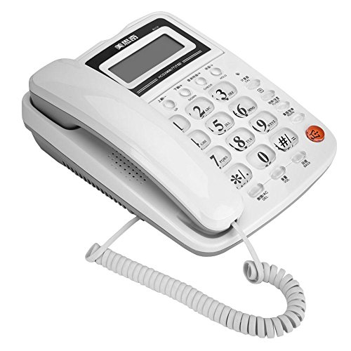 [해외]VBESTLIFE 자동 응답기 부모가 제트 그것만 스팸 전화 예방 화이트 홈오피스ホムテル 전화 바탕 화면 고정 전화 / Vbestlife Answering machine base unit only nuisance phone prevention white homeofficeHomtel Phone desktop Landline