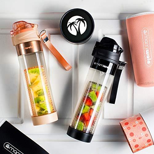 4872600230 MAMI WATA Fruit Infuser Water Bottle – Beautiful Gift Box - Import It All
