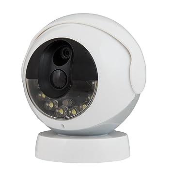 Amazon.com: Kidde RemoteLync Cordless Wireless Security Camera ...